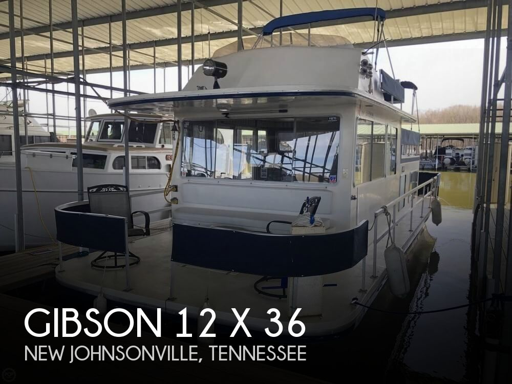 Used GIBSON Houseboats For Sale in Tennessee by owner | 1978 Gibson Gibson 36