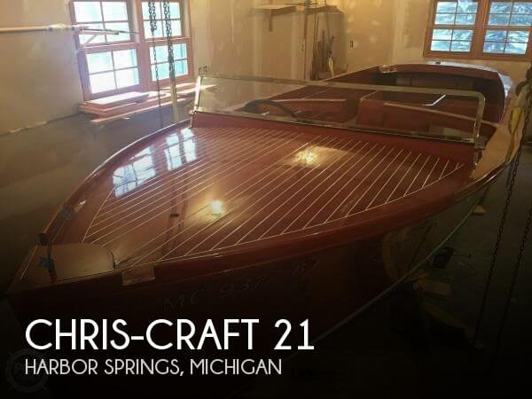 Used Chris-Craft Boats For Sale in Michigan by owner | 1937 Chris-Craft 21
