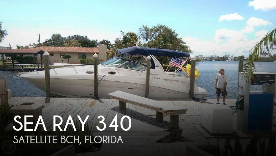 2007 Sea Ray boat for sale, model of the boat is 340 Sundancer & Image # 1 of 42