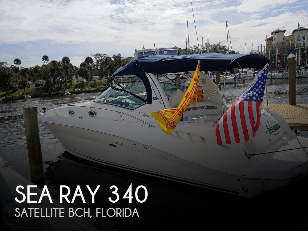 2007 Sea Ray boat for sale, model of the boat is 340 Sundancer & Image # 1 of 41