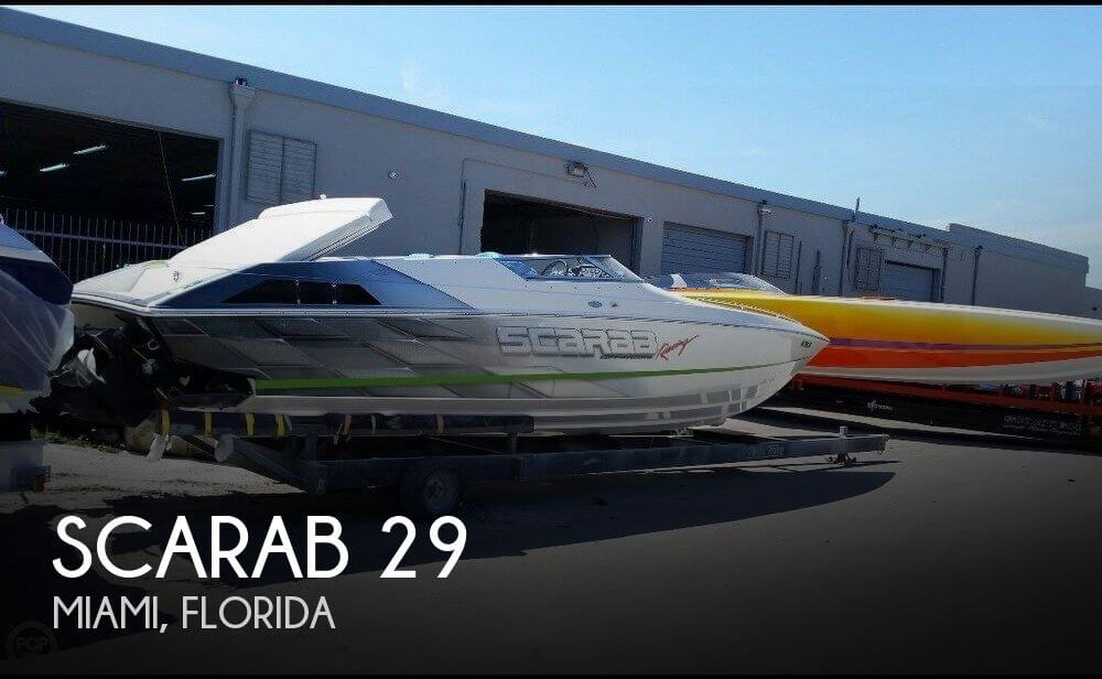 Used Scarab Boats For Sale by owner | 1998 Scarab 29
