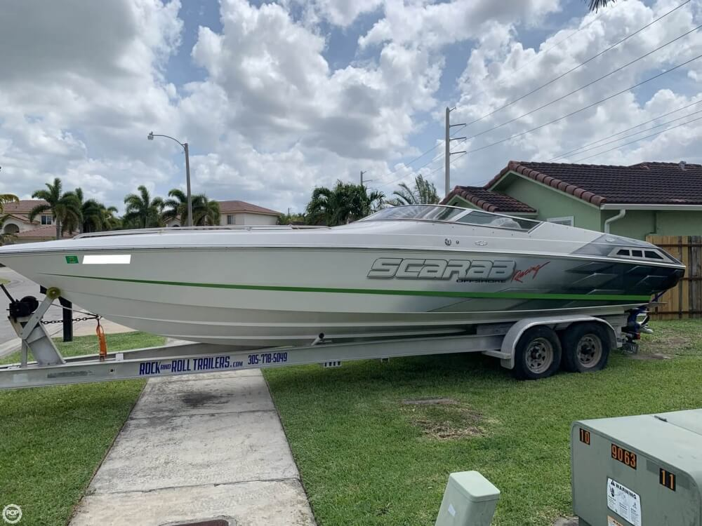 1998 Scarab boat for sale, model of the boat is 29 & Image # 4 of 40