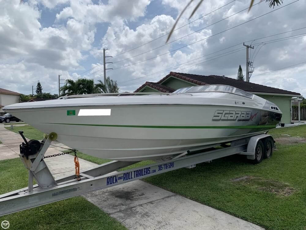 1998 Scarab boat for sale, model of the boat is 29 & Image # 7 of 40