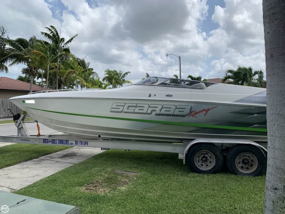 1998 Scarab boat for sale, model of the boat is 29 & Image # 18 of 40