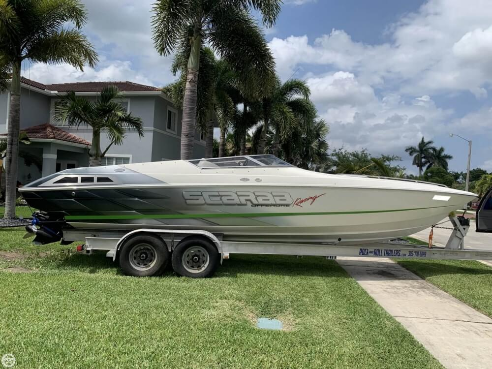 1998 Scarab boat for sale, model of the boat is 29 & Image # 22 of 40