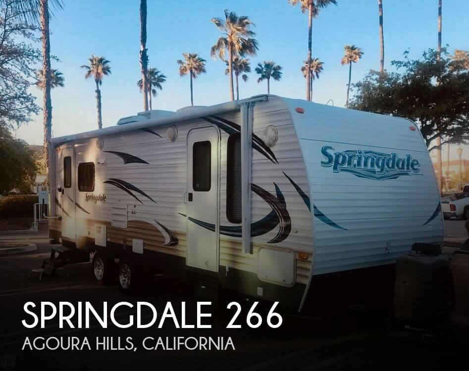 2012 Keystone Springdale 266