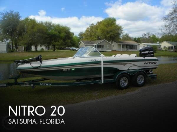 Used NITRO Fishing boats For Sale by owner | 2008 Nitro 20
