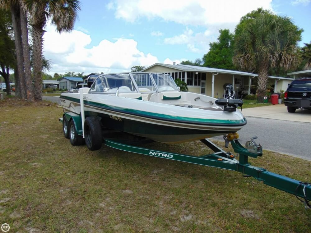 2008 Nitro boat for sale, model of the boat is 288 Sport & Image # 8 of 40