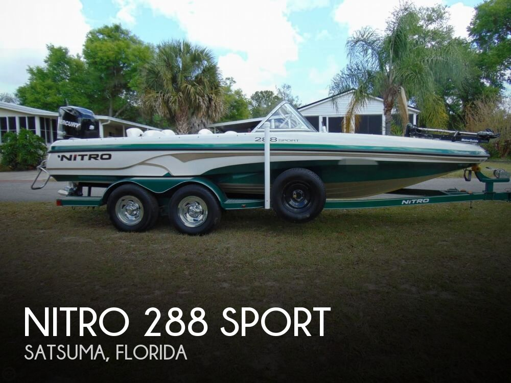 2008 Nitro boat for sale, model of the boat is 288 Sport & Image # 1 of 40