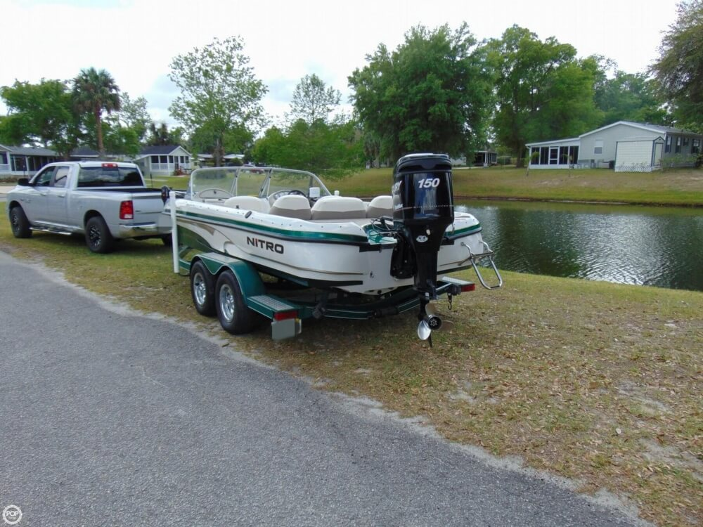 2008 Nitro boat for sale, model of the boat is 288 Sport & Image # 12 of 40