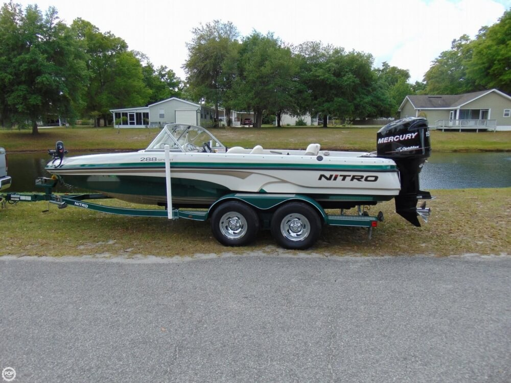 2008 Nitro boat for sale, model of the boat is 288 Sport & Image # 13 of 40