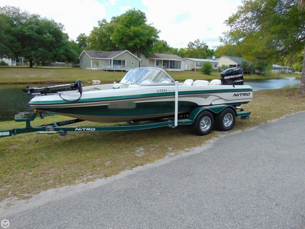 2008 Nitro boat for sale, model of the boat is 288 Sport & Image # 14 of 40