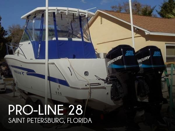 Used Pro-Line Boats For Sale in Florida by owner | 1999 Pro-Line 28