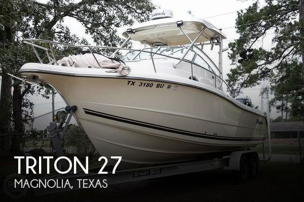Used Triton  Boats For Sale by owner | 2007 Triton 27