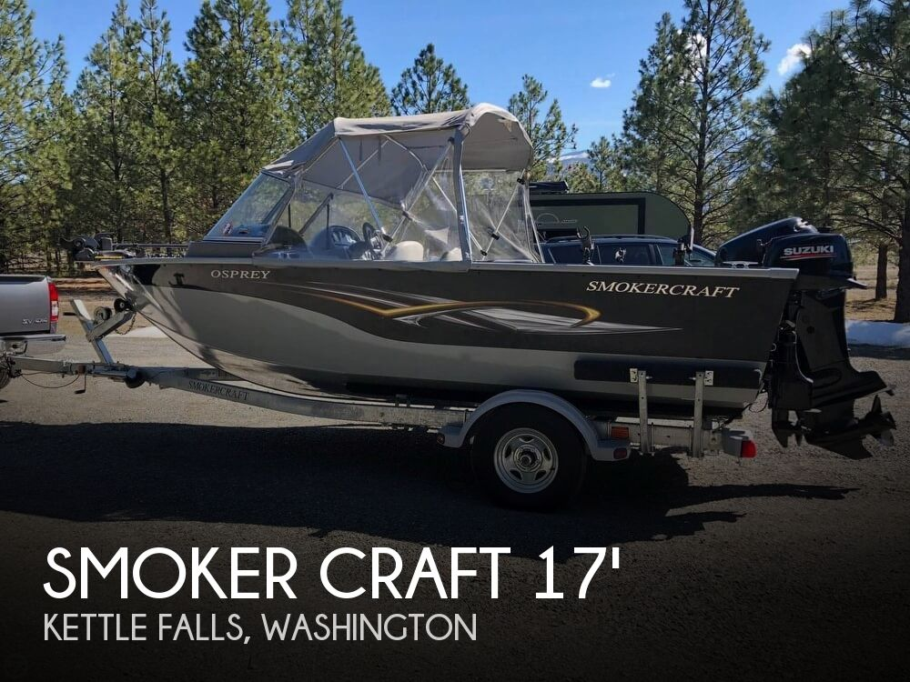 2011 Smoker Craft boat for sale, model of the boat is 17 Osprey & Image # 1 of 40