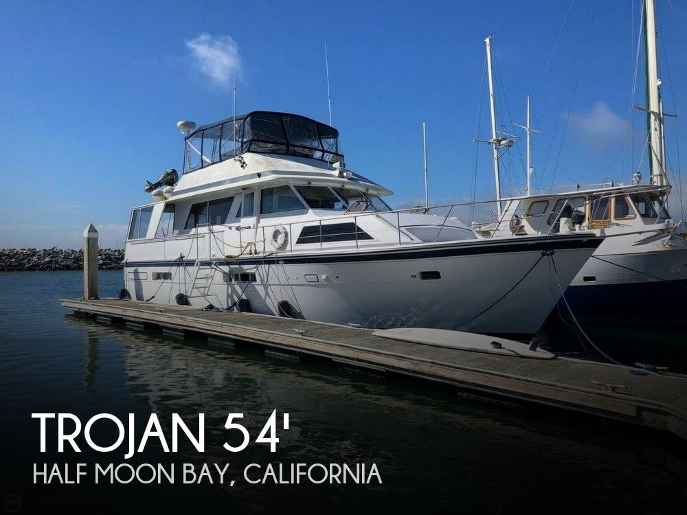 Used Boats For Sale in Santa Cruz, California by owner | 1976 Trojan 54