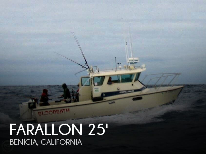 Used Boats For Sale in Santa Rosa, California by owner | 1992 Farallon 25
