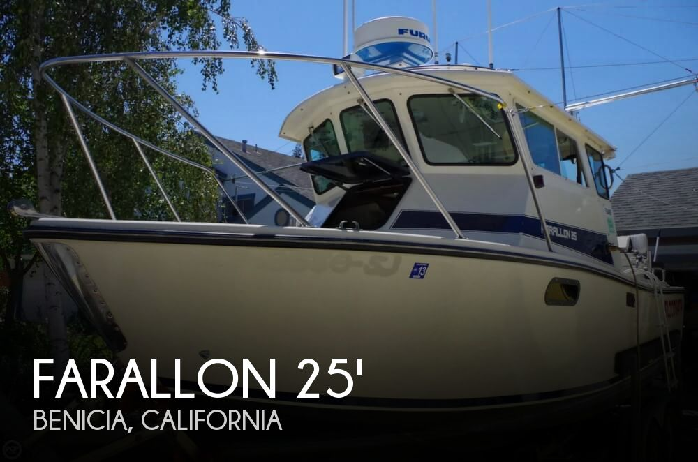 1992 Farallon boat for sale, model of the boat is Whaleback 25 & Image # 1 of 40