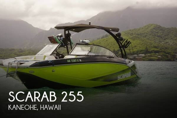 Used Boats For Sale in Hawaii by owner | 2016 Scarab 25