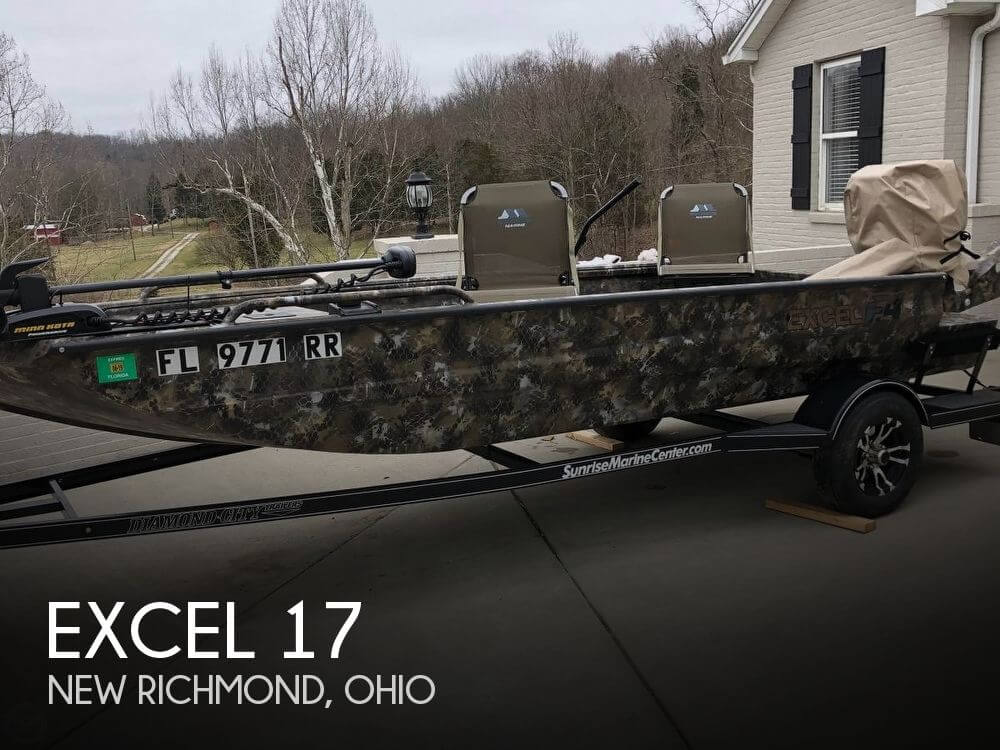 Used Fishing boats For Sale in Ohio by owner | 2018 Excel 17