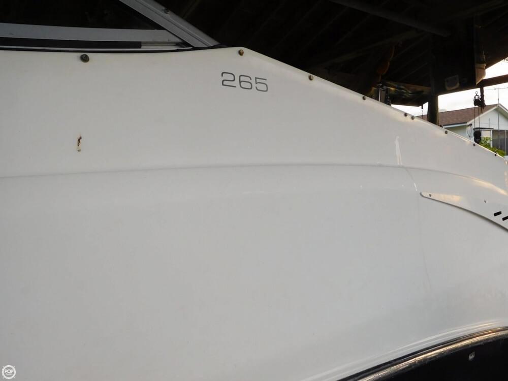2008 Bayliner boat for sale, model of the boat is 265 SB & Image # 39 of 40