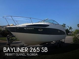 2008 Bayliner boat for sale, model of the boat is 265 SB & Image # 1 of 40
