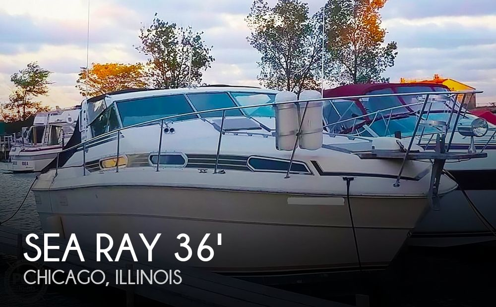 1980 Sea Ray boat for sale, model of the boat is SRV 360 Express Cruiser & Image # 1 of 41