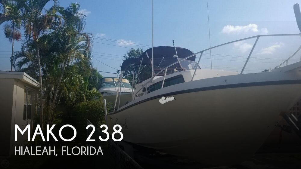 1985 Mako boat for sale, model of the boat is 238 & Image # 1 of 41