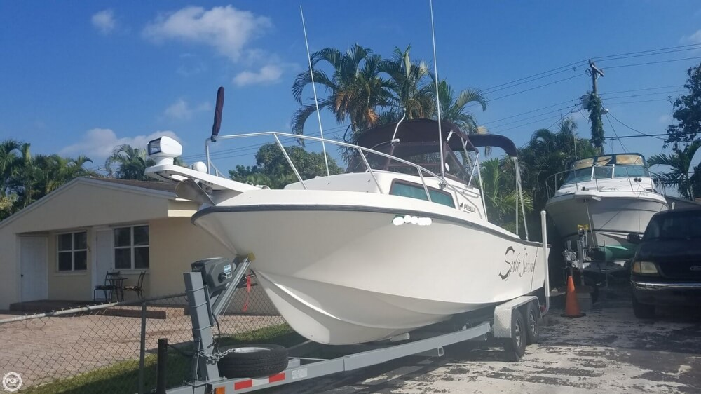 1985 Mako boat for sale, model of the boat is 238 & Image # 2 of 41