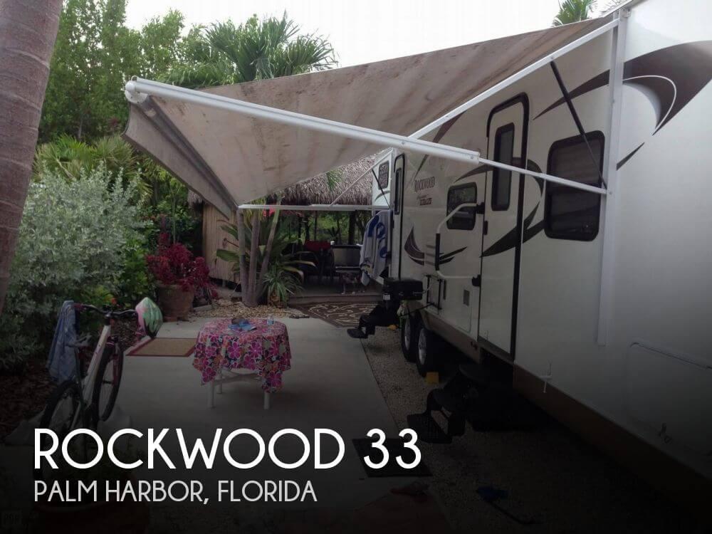2011 Forest River Rockwood 33