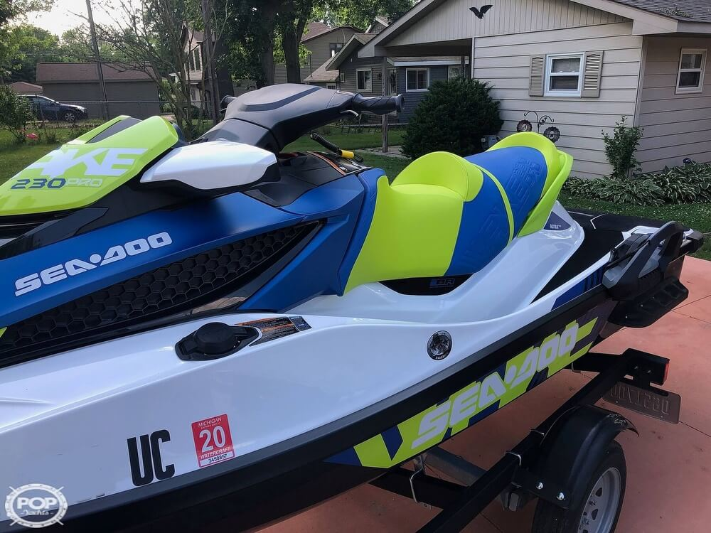 2017 Sea Doo PWC boat for sale, model of the boat is 230 Wake Pro & Image # 8 of 12