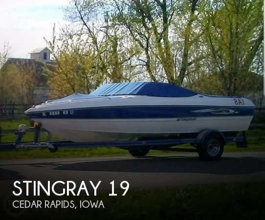 Used Boats For Sale in Cedar Rapids, Iowa by owner | 2007 Stingray 19