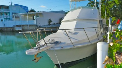 Bertram 33 Flybridge Cruiser, 35', for sale - $37,500