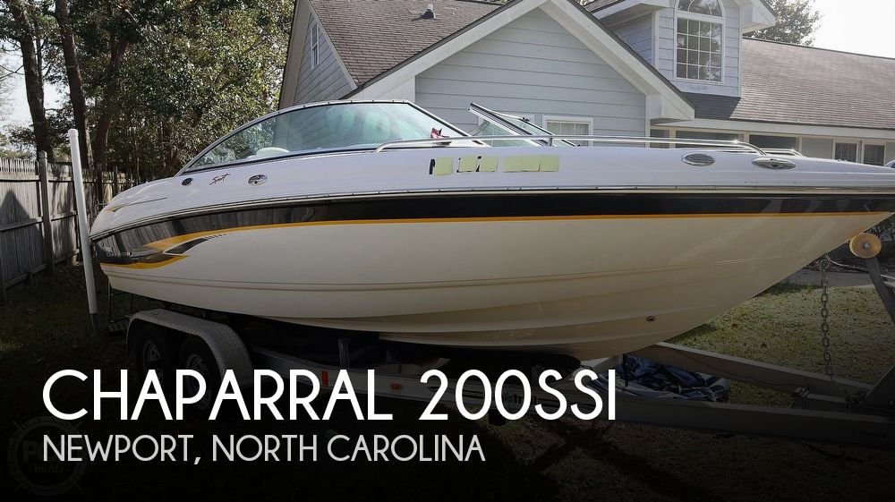 2003 Chaparral boat for sale, model of the boat is 200SSI & Image # 1 of 40