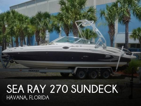 Used Boats For Sale in Tallahassee, Florida by owner | 2005 Sea Ray 27