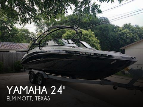 Used Boats For Sale in Waco, Texas by owner | 2014 Yamaha 24