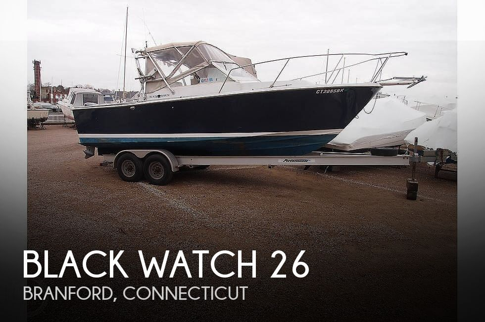 Used Black Watch Boats For Sale by owner | 1988 Black Watch 26