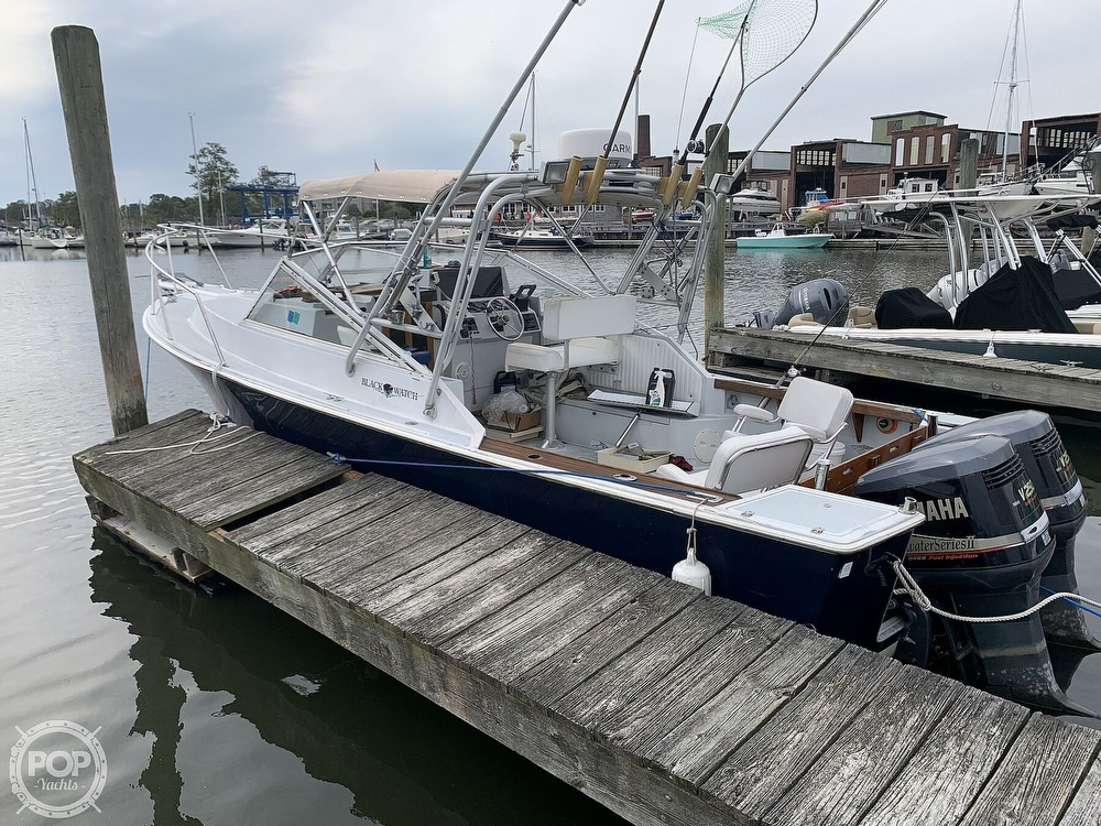 1988 Black Watch boat for sale, model of the boat is 26 & Image # 3 of 40