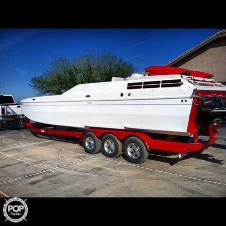 2004 American Offshore boat for sale, model of the boat is 3100 & Image # 5 of 41