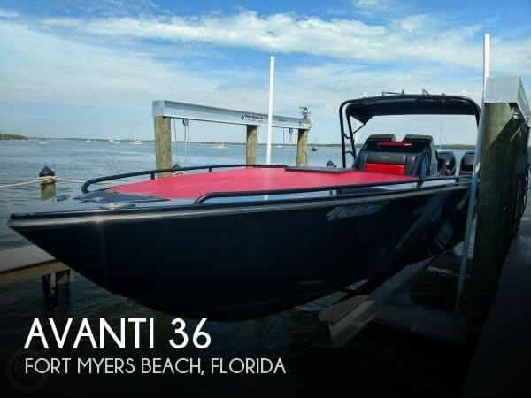 Used Boats For Sale in Wisconsin by owner | 2012 Avanti 36