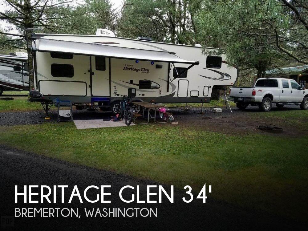 2017 Forest River Heritage Glen 34