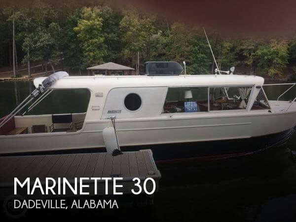 Used Boats For Sale in Columbus, Georgia by owner | 1959 Marinette 30