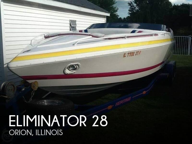 Used Boats For Sale in Davenport, Iowa by owner | 1998 Eliminator 28