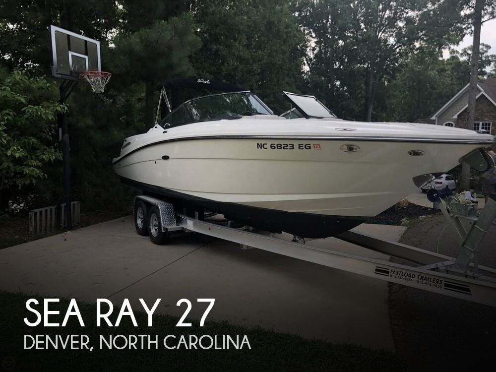 Used Sea Ray Boats For Sale in North Carolina by owner | 2011 Sea Ray 27