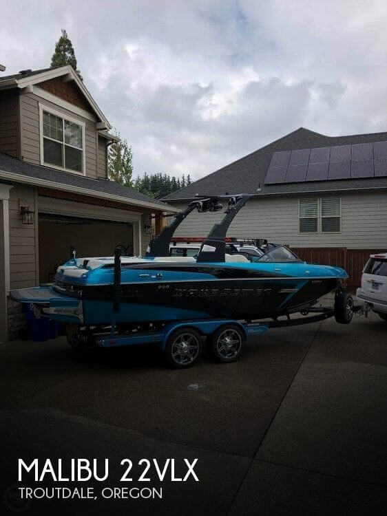 Used Boats For Sale in Oregon by owner   2015 Malibu 22