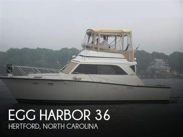 Used Egg Harbor Boats For Sale by owner | 1982 Egg Harbor 36
