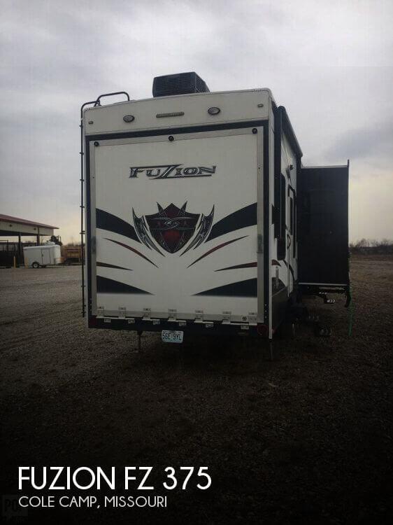 2012 Keystone Fuzion FZ 375