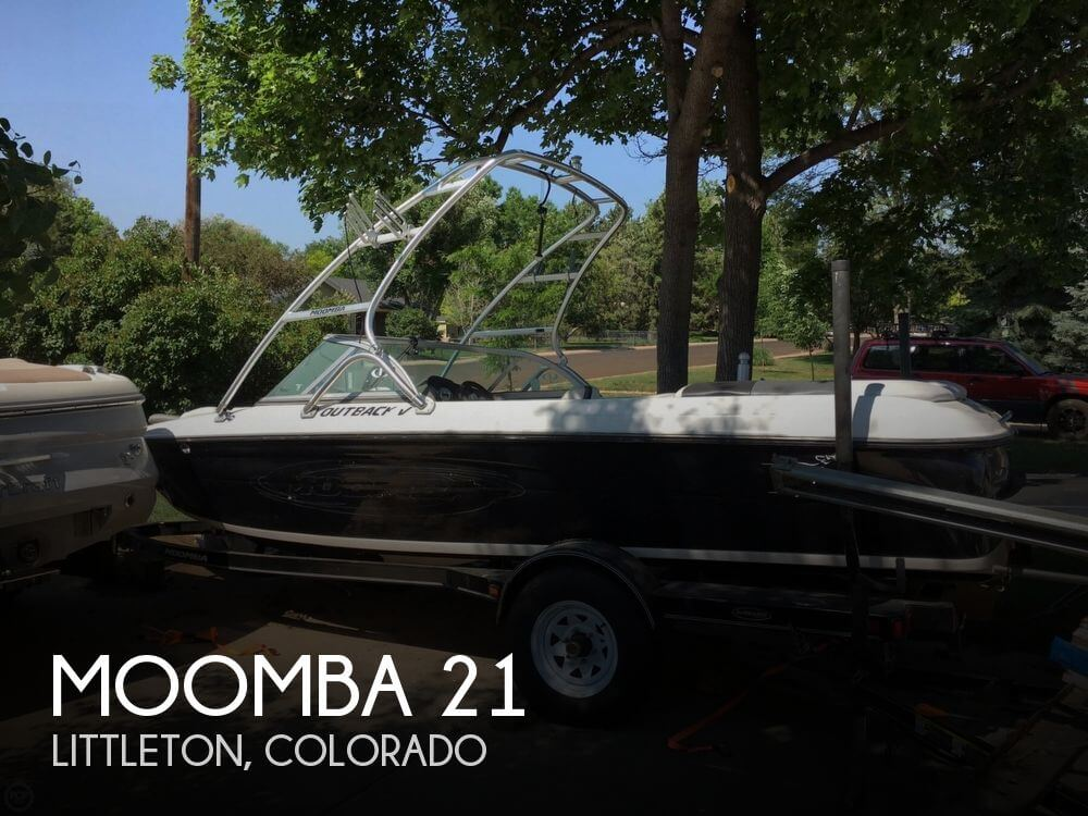 Used Boats For Sale in Colorado Springs, Colorado by owner | 2006 Moomba 21