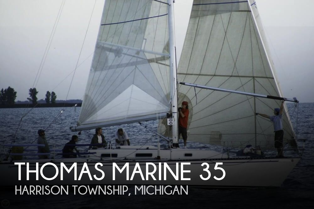 Used Sailboats For Sale in Michigan by owner | 1991 Thomas Marine 35