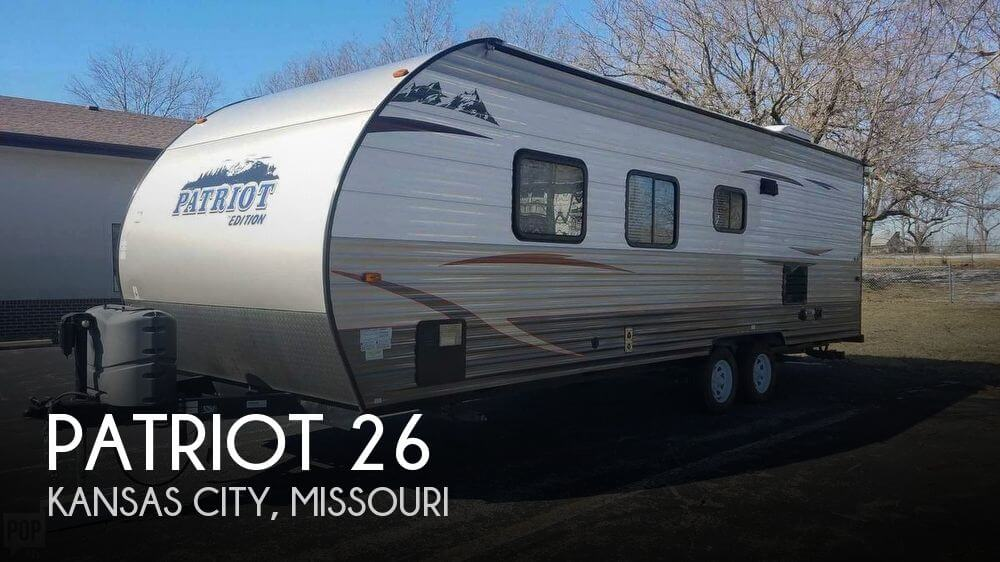 2015 Forest River Patriot 26